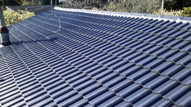 Restored tile roof 2 - Home