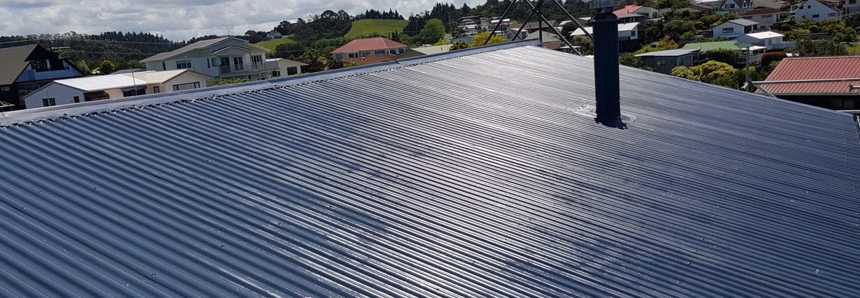 iron and coloursteel roof painting - Roof Painting