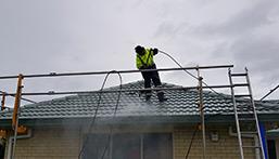 waterblasting roof cleaning - Roof Repairs